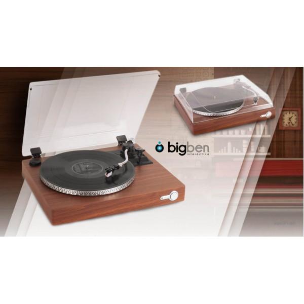 Vinyl record player, gramophone Bigben TD110