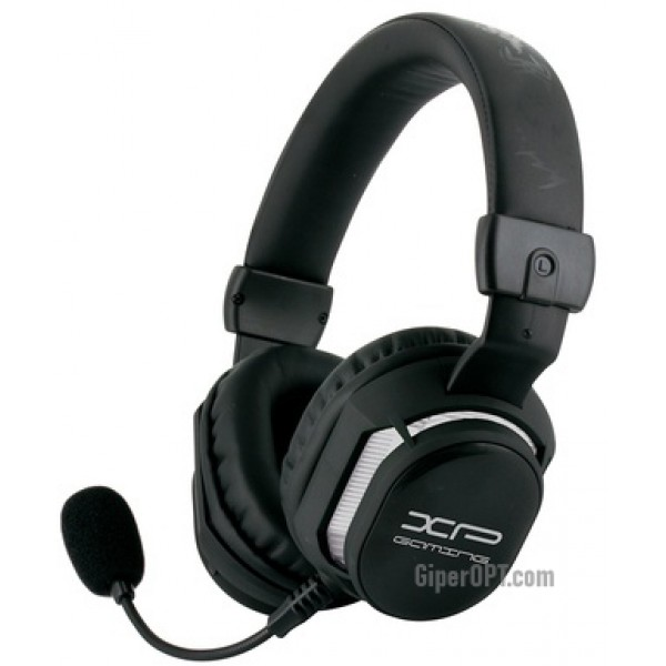 Inexpensive, gaming headset for the computer, wired binaural headphones with a microphone BIGBEN MULTI HS10 for XBOX 360 ™ PS3 ™ and PC