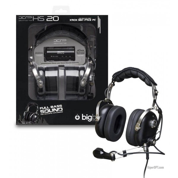 Cheap, wired, closed headphones with a BIGBEN MULTIHS20 remote for PC / PS3 / XBOX 360