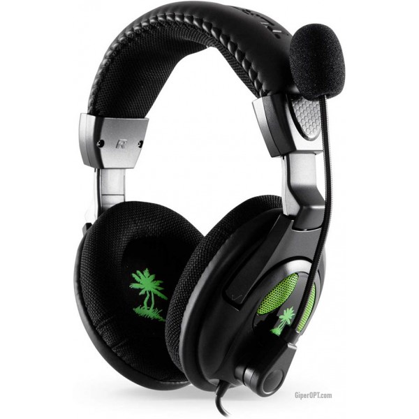 Wired, half-open overhead headphones with microphone Turtle Beach Ear Force X12 Xbox 360 USB TBS-2257-01BB