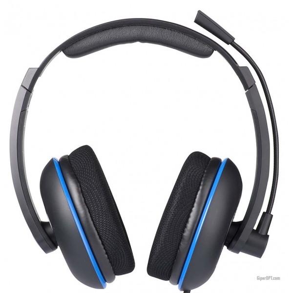 Проводные наушники для игр с микрофоном, пультом Turtle Beach TBS-3250-02 для ПК, P12, Mac, мобильных устройств, PS Vita, PS4