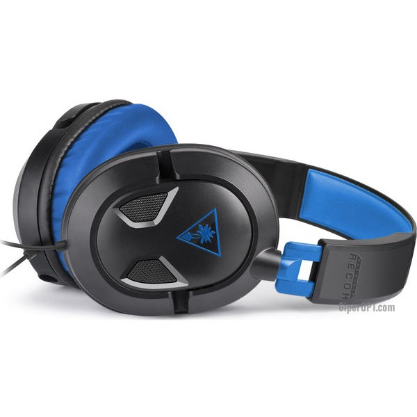 Игровая гарнитура, проводные геймерские наушники закрытые TURTLE BEACH Ear Force Recon 60P TBS-3308-02