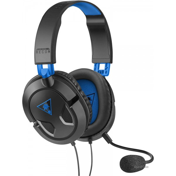 Computer Headset wired, full-size headphones with microphone and remote Turtle Beach Ear Force Recon 50P (TBS-3303-02)