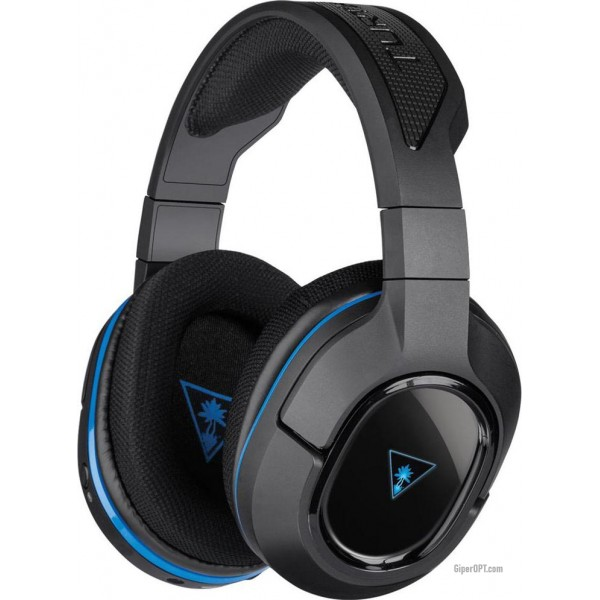 Headset, lightweight full-size wireless headphones with a USB Turtle Beach TBS-3240-02 Stealth400 microphone for PS3 and PS4 and mobile devices