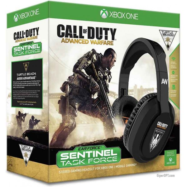 Headset for computer games, gaming headphones wired, closed Turtle Beach Xbox One TBS-4040-01