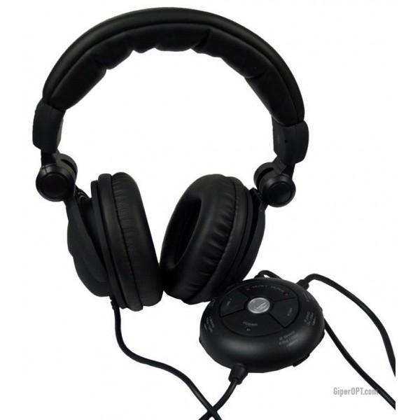 Универсальная стерео-гарнитура, игровая гарнитура, закрытые наушники с микрофоном USB Snakebyte naga для PlayStation 3, Xbox 360 и ПК