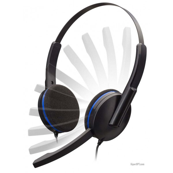 Wired, gaming, overhead headphones, gaming headset with microphone BigBen Play PS4 PC