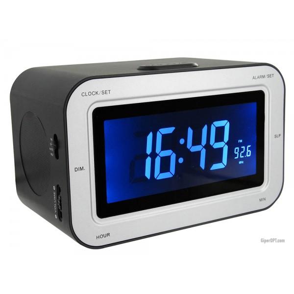 Настольные цифровые радиочасы будильник FM Bigben RR30