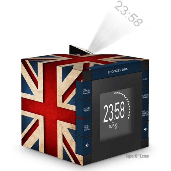 Desktop projection clock digital radio clock alarm Bigben RR70PGB