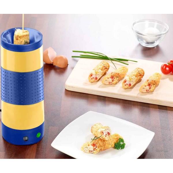 "Vertical cooker, grill omelette, egg cooker ""Rollie Eggmaster"" IdeenWelt TSK-8992P"