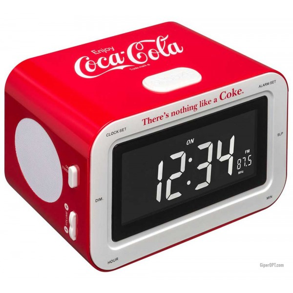 Desktop electronic clock BigBen RR30 Coca Cola radio alarm clock