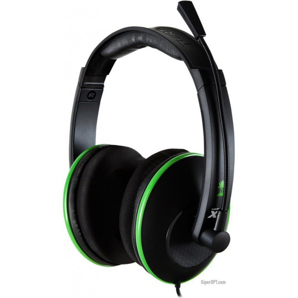 High quality wired headphones with microphone for games TURTLE BEACH EF XL1 HS (MSFT) X360 TBS-2349-02