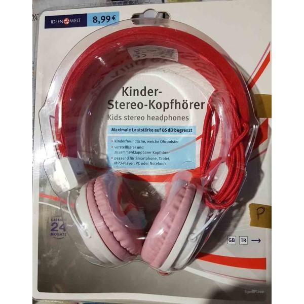 Детские стерео-наушники, закрытые, проводные наушники для детей ideen welt TP-EH-S458