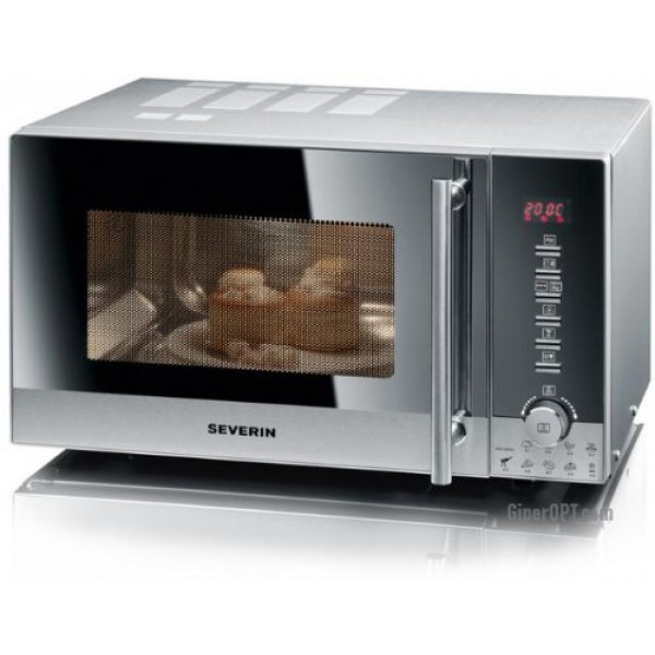 Microwave stainless steel, grill, convection Severin MW 7872, 30 l