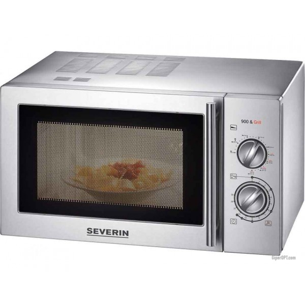 Microwave in stainless steel with grill 23 l Severin MW 7849