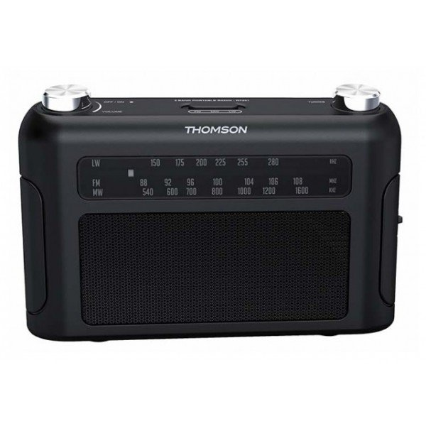 Portable radio 3 bands (black) RT235 THOMSON