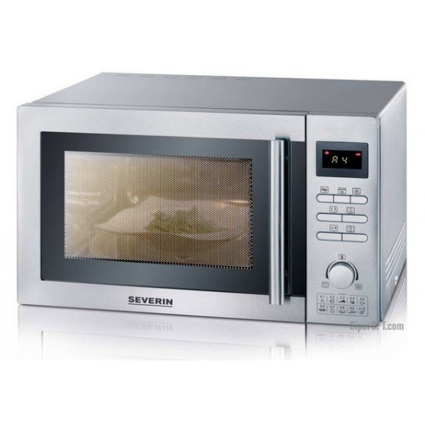 Microwave in stainless steel grill, convection 25l Severin MW 7848