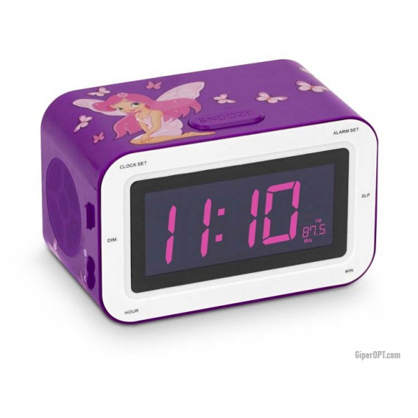 Desktop Children's digital radio clock alarm clock Bigben RR30 Fairy3