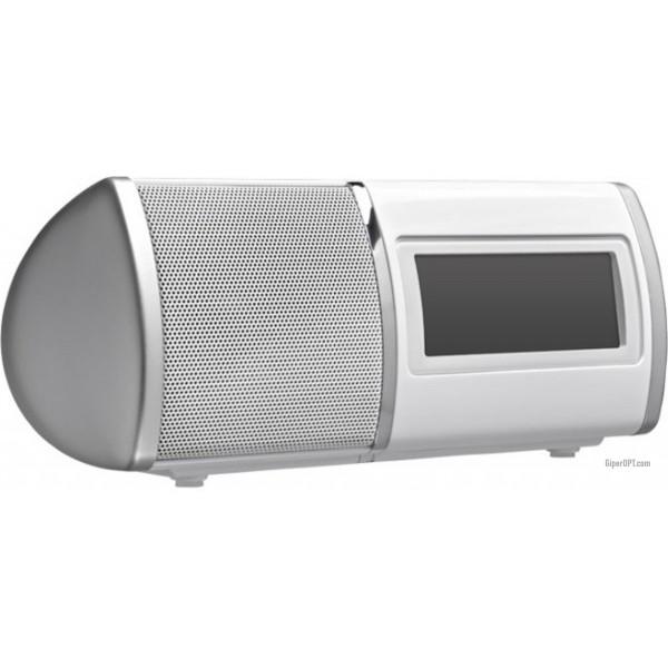 Electronic desktop radio alarm clock with FM tuner, Bigben clock RRSE3BC
