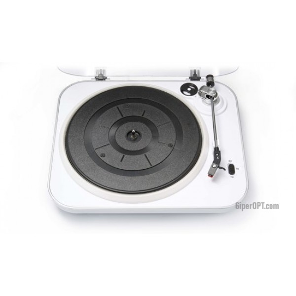 Vinyl record player with remote control and backlight white Bigben interactiv TD120BCLIGHT
