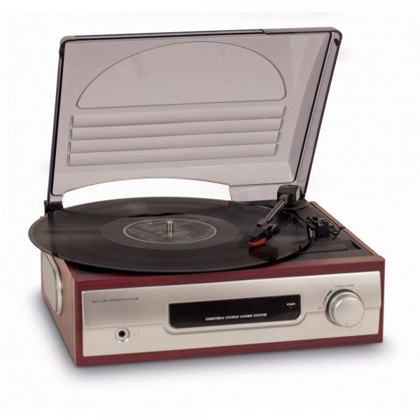 Vinyl record player BigBen TD012