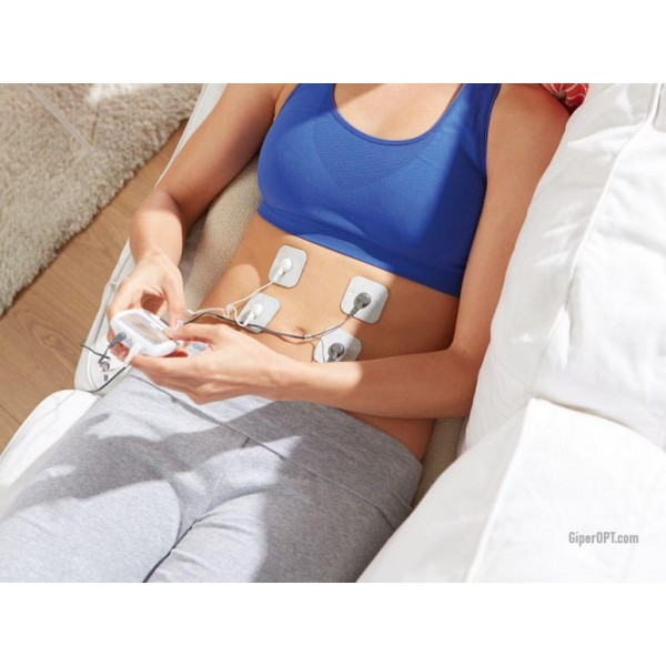 Miostimulator massager muscle and nerve stimulator digital electrostimulator SANITAS SEM 44, GERMANY