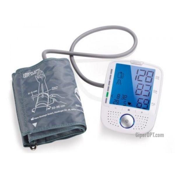 Автоматический тонометр манжетный, аппарат для измерения артериального давления и пульса говорящий SANITAS SBM 52, ГЕРМАНИЯ