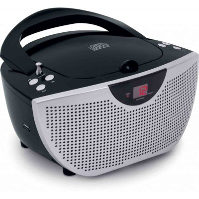 Магнитола, радио CD плеер детский, портативная стереосистема USB, МP3 BigBen CD55