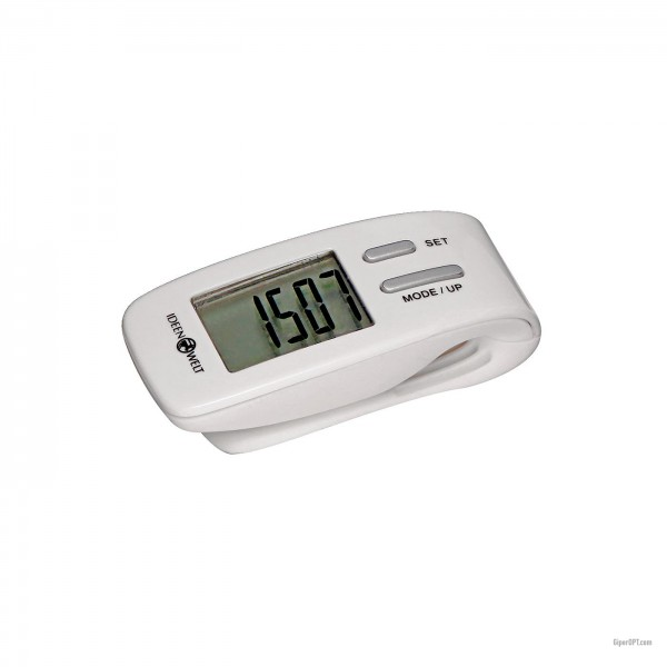 Pedometer / pedometer with calorie counter IdeenWelt ES210