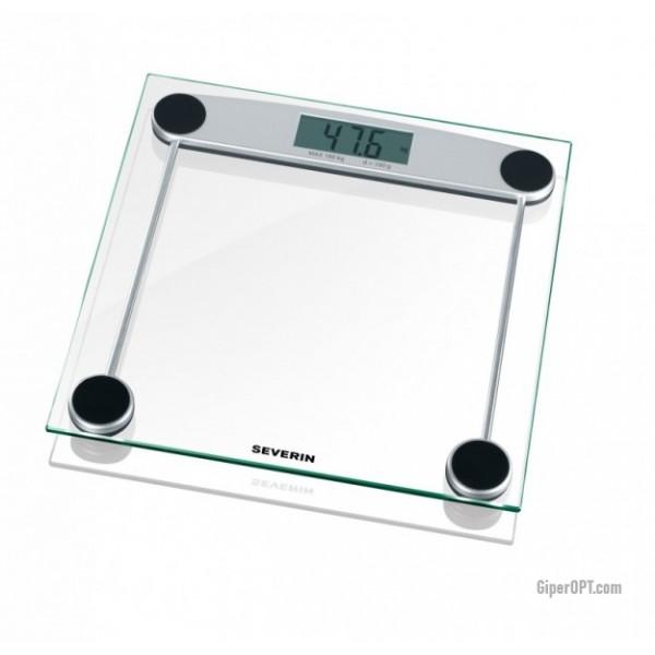 Весы напольные стекло Severin PW 7009