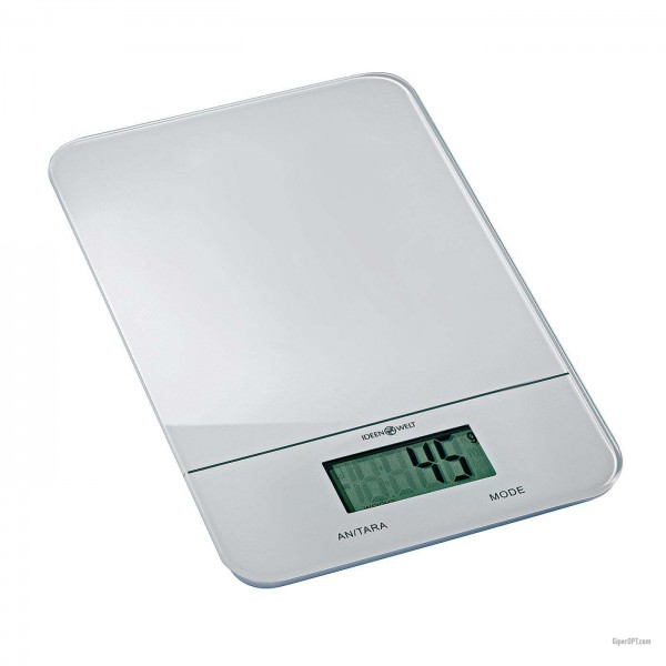 Digital kitchen scales Ideenwelt CFC2021 white up to 5kg