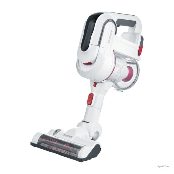 Severin HV 7156 cordless cordless vacuum cleaner without bag with backlight
