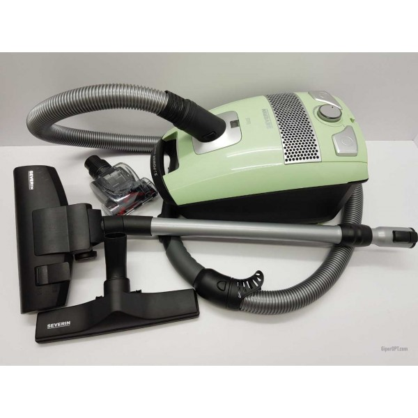 Vacuum cleaner with a turbo brush, sack for dry cleaning Severin BC7041