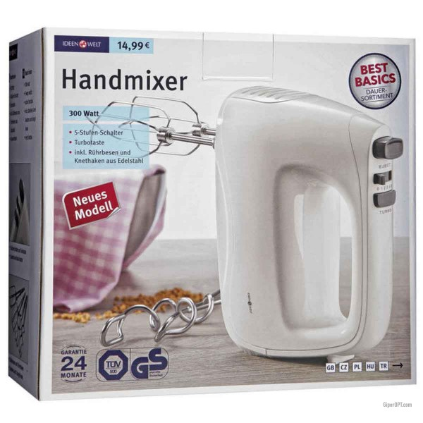 Hand mixer Ideenwelt HM1030-GS