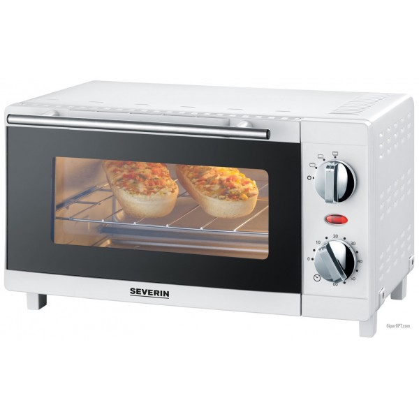 Mini oven, tabletop, electric oven, electric oven with 9 liter 800W grill Severin TO 2054