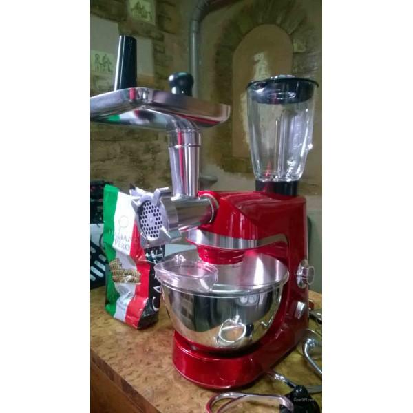 Kitchen machine food processor 3 in 1 Royalty Line PKM-1800BG 1800 W
