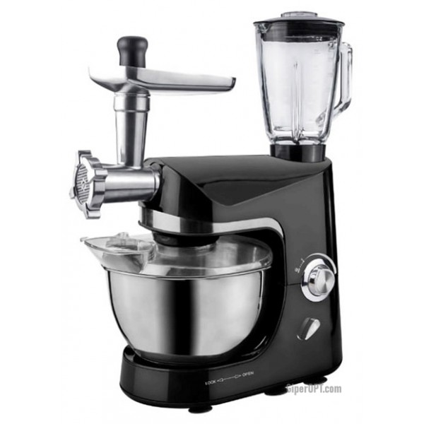 Kitchen machine food processor 3 in 1 Royalty Line PKM-1800BG 1800 W