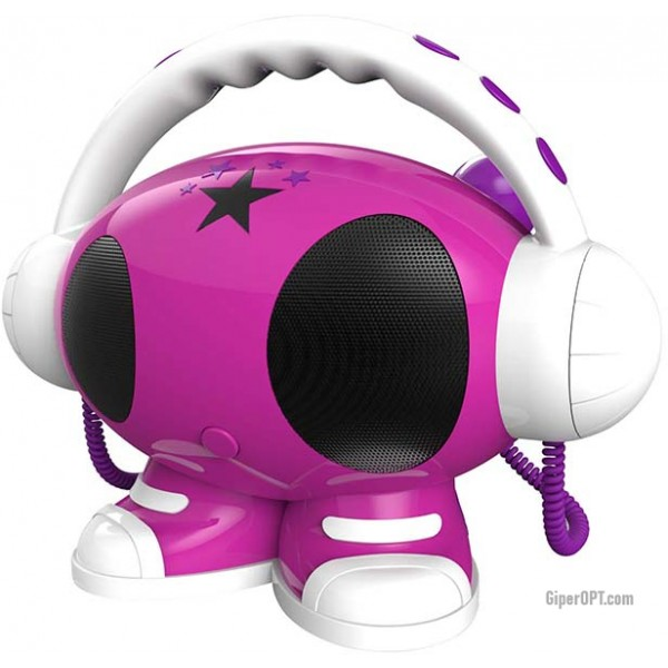 Детская караоке система, колонка BIGBEN ROBOT02, MP3 плеер, мультимедийный проигрыватель