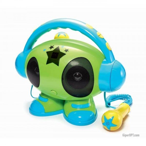 Children's karaoke system, BIGBEN ROBOT01 speaker portable player, MP3 player, USB