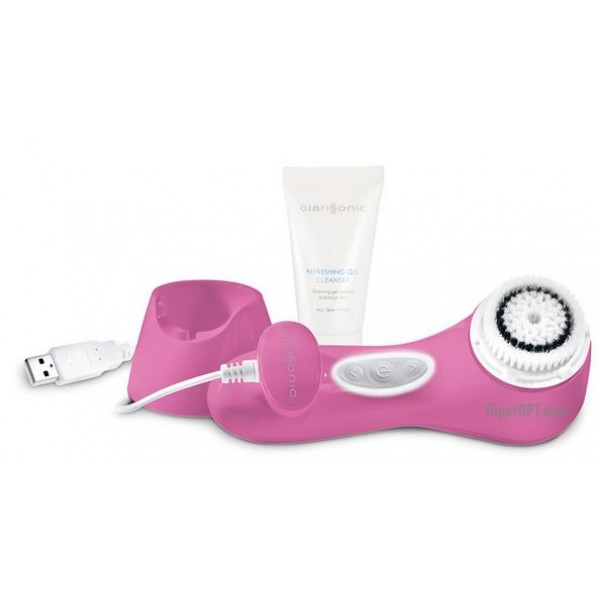 Massager brush for deep cleaning of the skin Clarisonic Aria Pink