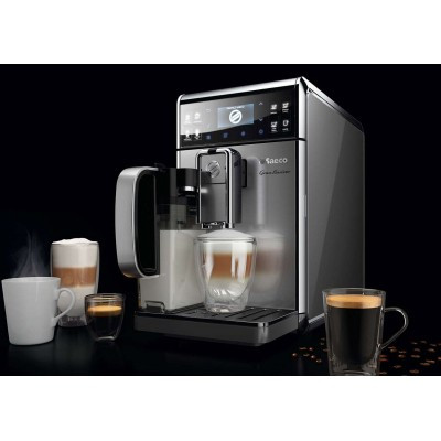 Automatic Saeco GranBaristo coffee machine used, HD8975 / 01