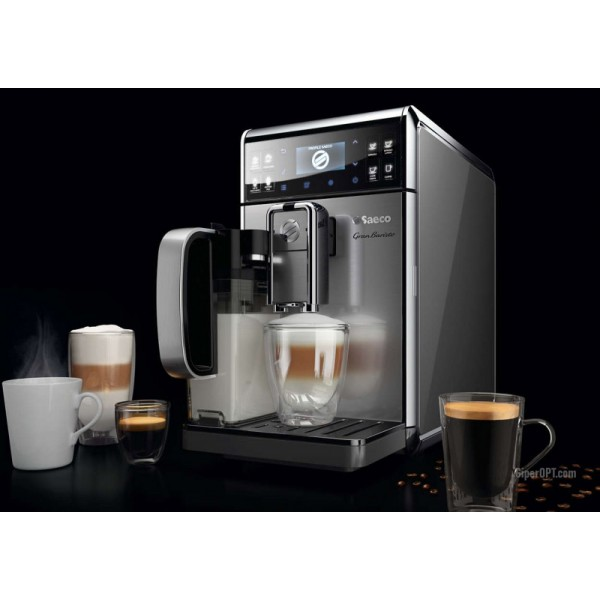 Automatic Saeco GranBaristo coffee machine used, HD8975 / 01