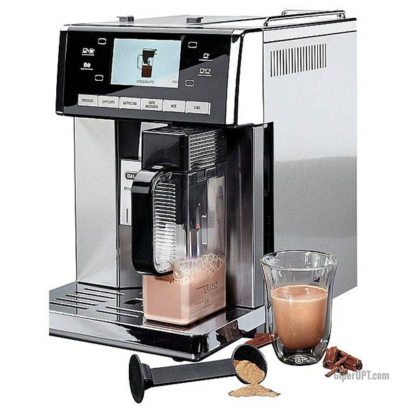 Автоматическая русифицированная кофемашина DeLonghi PrimaDonna Exclusive ESAM 6900 М