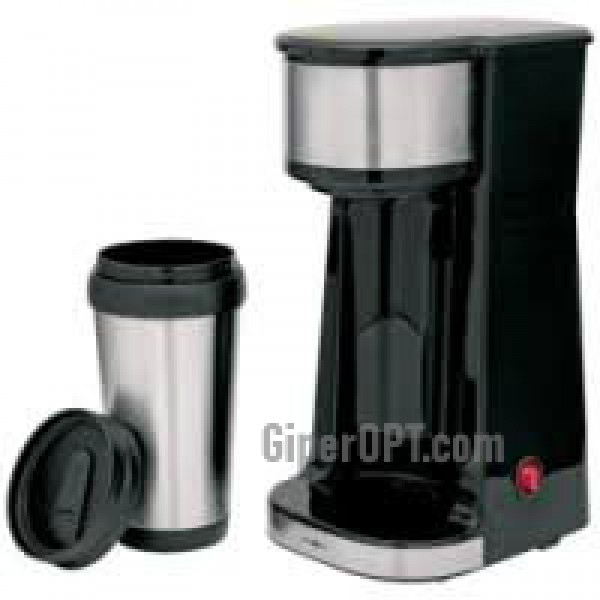 Coffee maker in the car + Mug, thermos ideen welt