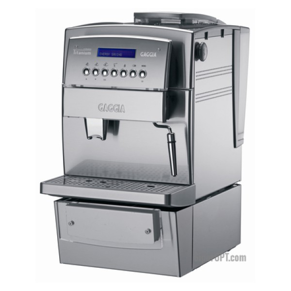 Gaggia Titanium Office used stainless steel