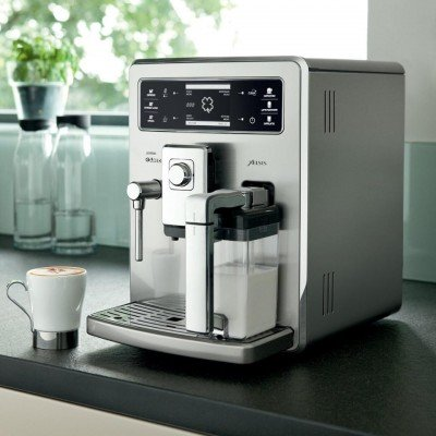 Philips Saeco Xelsis EVO Stanless Steel HD8954 / 09 coffee machine-superavtomat used, stainless steel
