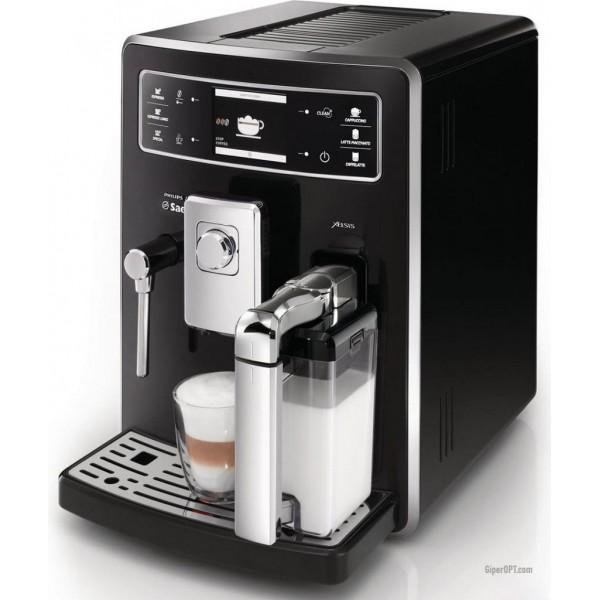 Кофемашина-суперавтомат Philips Saeco Xelsis Evo Class HD8943/19 б/у, черная