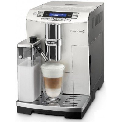 Used DELONGHI S De Luxe ECAM 26.455 WB automatic coffee machine