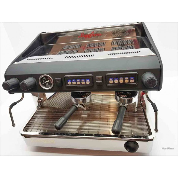 Professional coffee machine 2 post used at low prices Expobar 2 post MEGACREM CONTROL 2 RED
