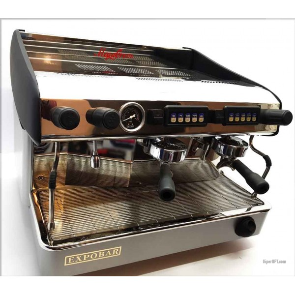 Professional automatic espresso coffee machine used Expobar MEGACREM CONTROL 2 RED 2 posts